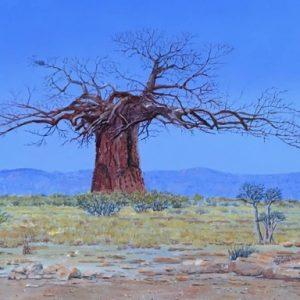 Baobab blue landscapejpg