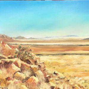 Spreetshoogte namib desert landscape