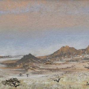 Sunset over the Namib